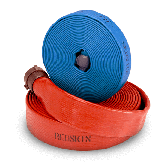 BullDog Redskin and Blueskin fire hose