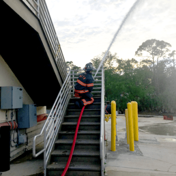 BullDog Fire Hose in Action