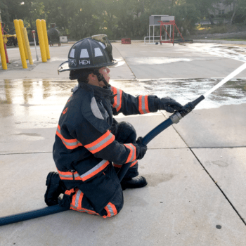 BullDog Hi-Power fire hose